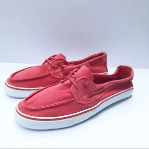 Sonoma Catalina Boat Deck Shoes Size 8.5 Coral